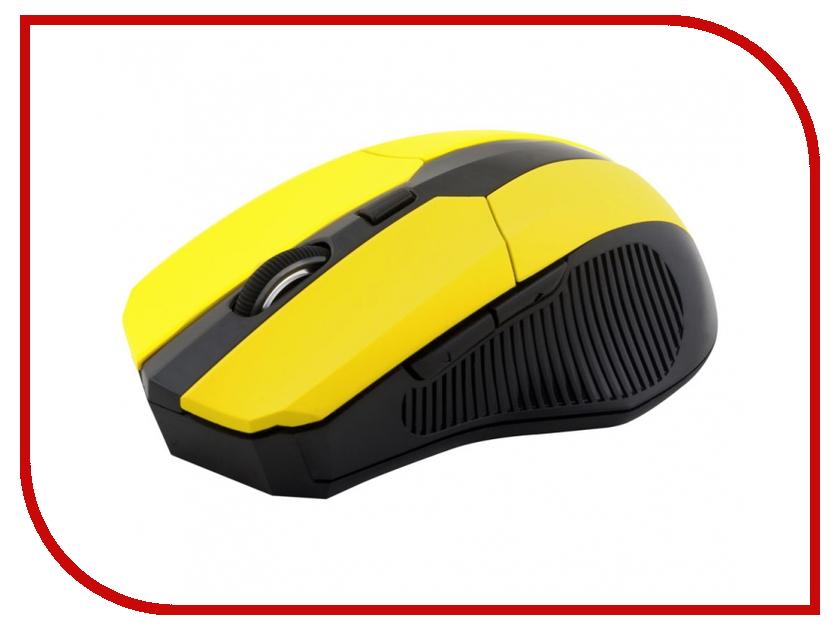 Мышь беспроводная CBR CM 547 Yellow