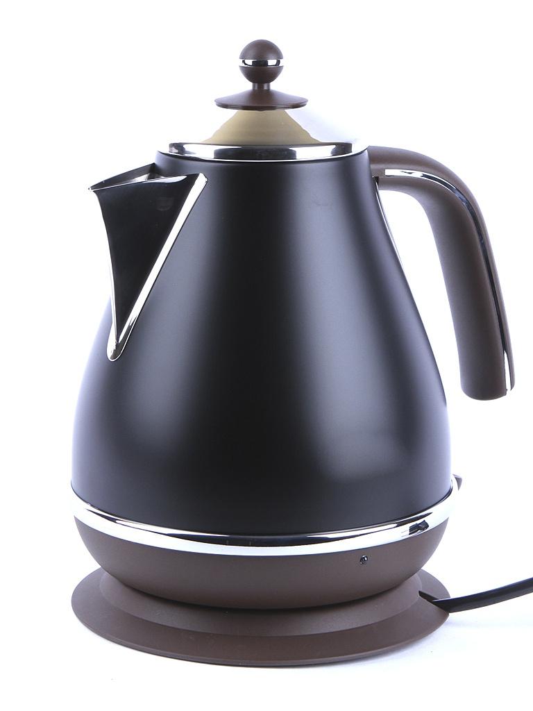 Чайник DeLonghi KBO-2001 Black цена и фото