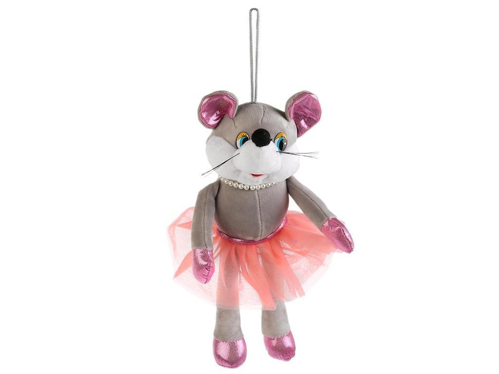 Игрушка Мульти-пульти Мышка с бусами 17cm 20625TNS
