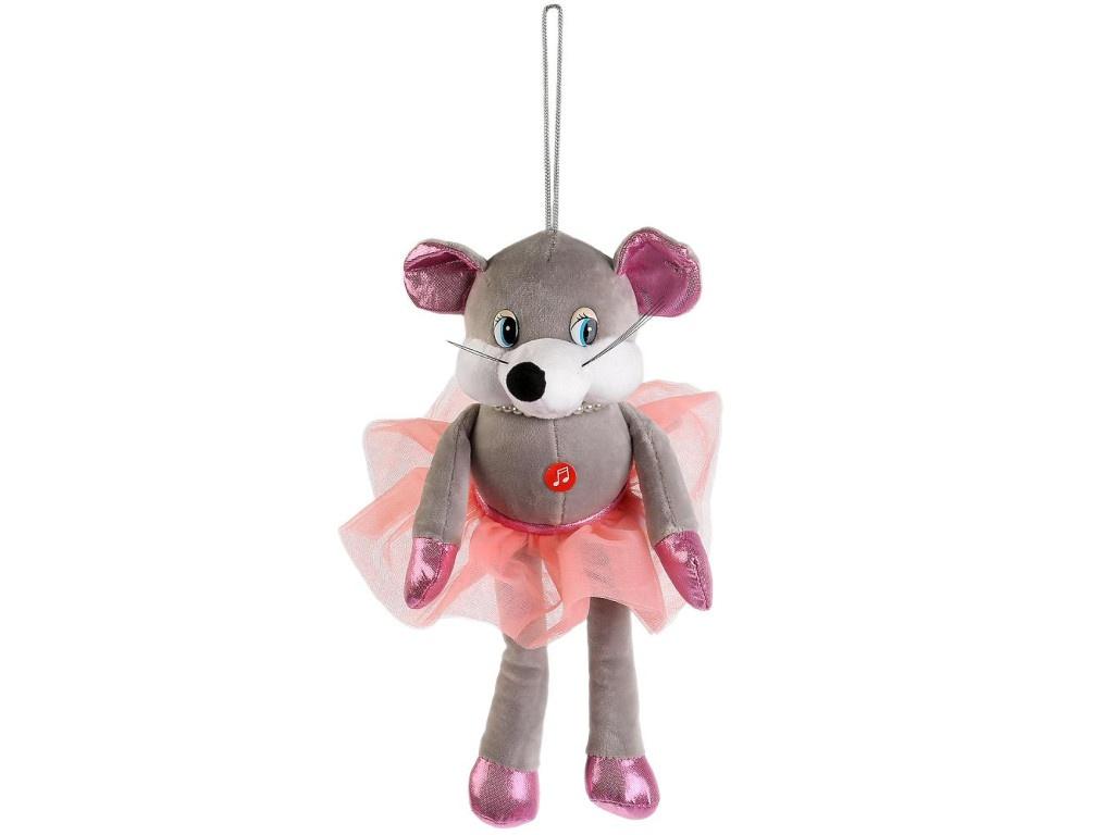 Игрушка Мульти-пульти Мышка с бусами 17cm 20625T