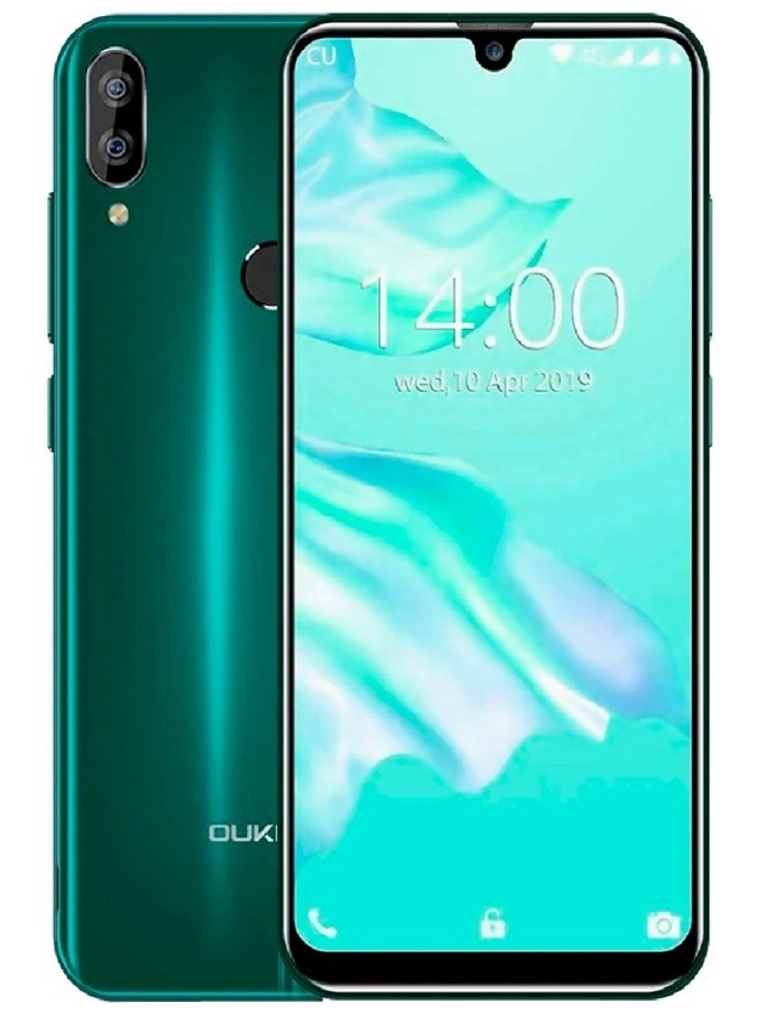 Сотовый телефон Oukitel C16 Pro Green