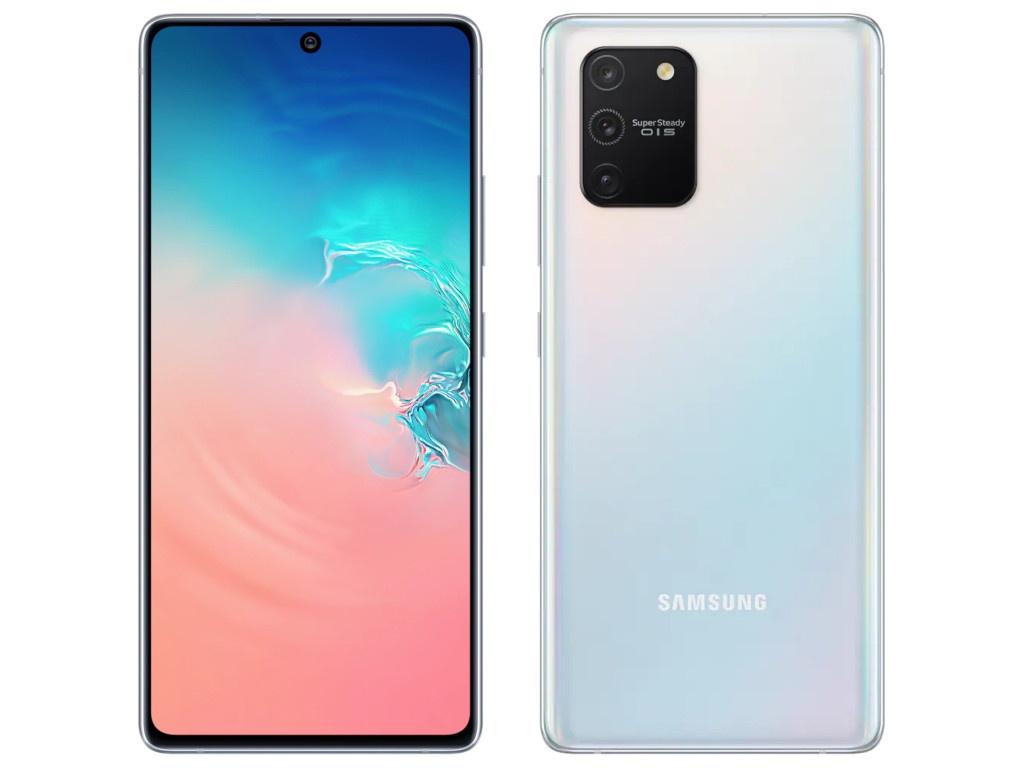 Сотовый телефон Samsung SM-G770F Galaxy S10 Lite 6Gb/128Gb White сотовый