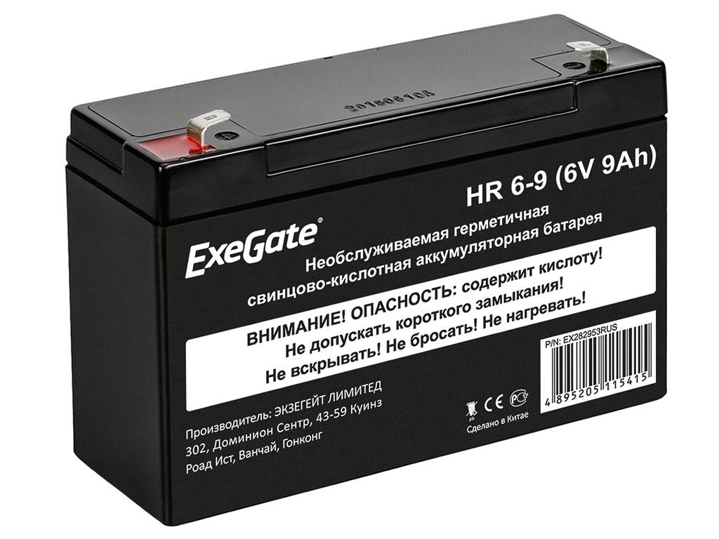 Аккумулятор для ИБП ExeGate HR 6-96V 9Ah 634W клеммы F2 EX282953RUS