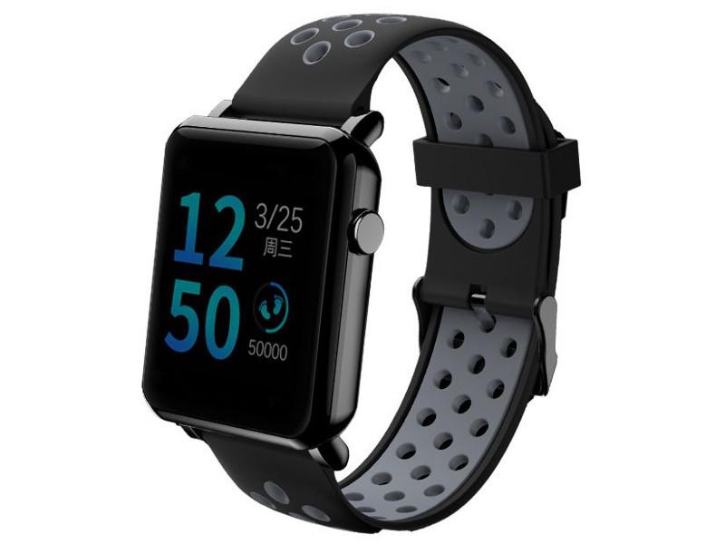 Умные часы Qumann QSW 02 Black-Grey Q-15020 цена и фото