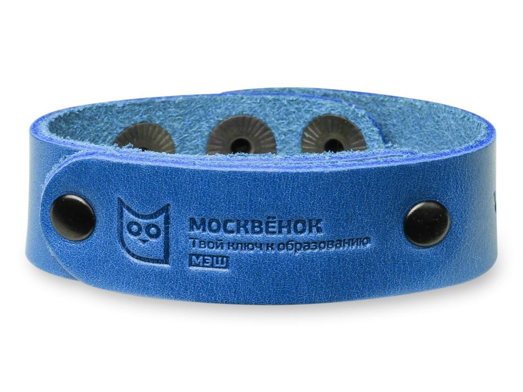 Wochi P Москвёнок RFID со встроенным чипом р.S Leather Blue WCH-PS3-RU