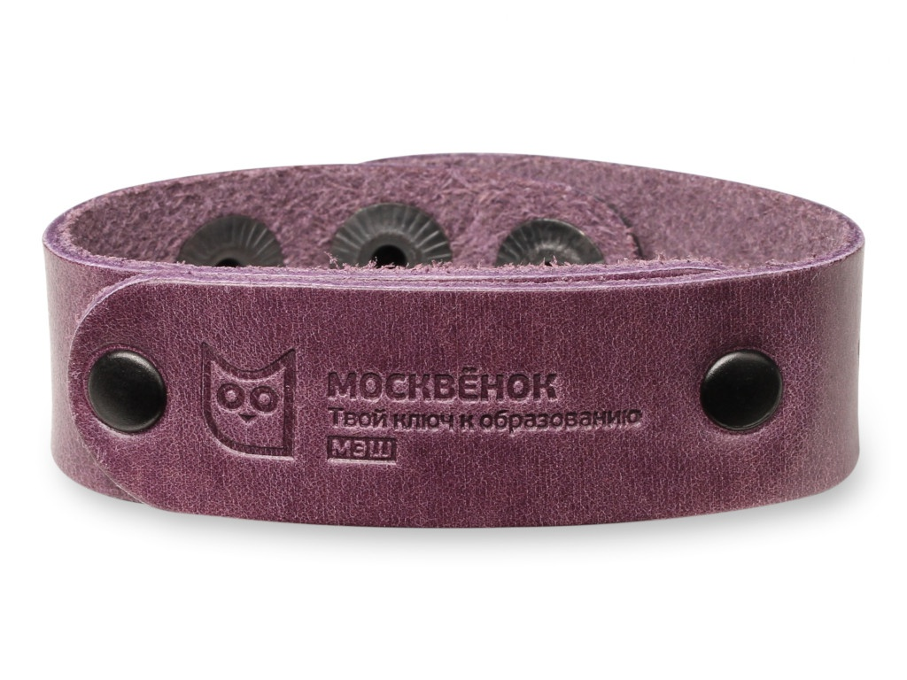 Умный браслет Wochi P Москвёнок RFID со встроенным чипом р.S Leather Purple WCH-PS6-RU
