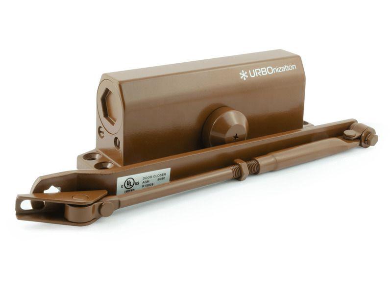 Доводчик дверной Нора-М 540 URBOnization 80-120кг морозостойкий Brown 16638