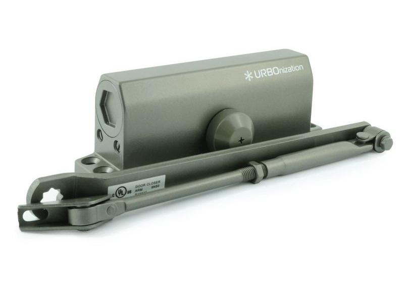Доводчик дверной Нора-М 550 URBOnization 120-160кг морозостойкий Bronze 16640
