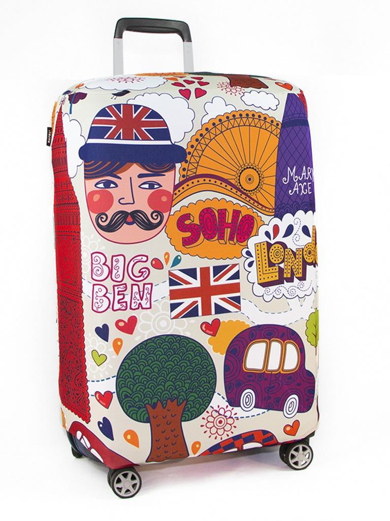 Чехол для чемодана RATEL Travel размер L London