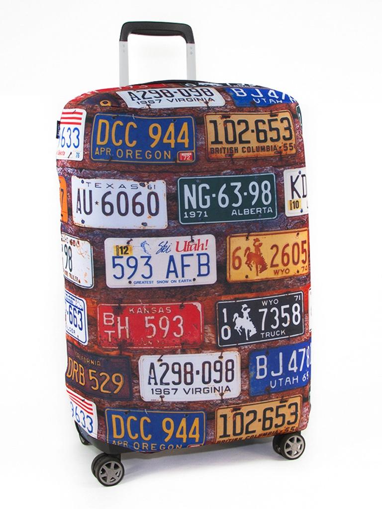 Чехол для чемодана RATEL Travel размер S License Plates