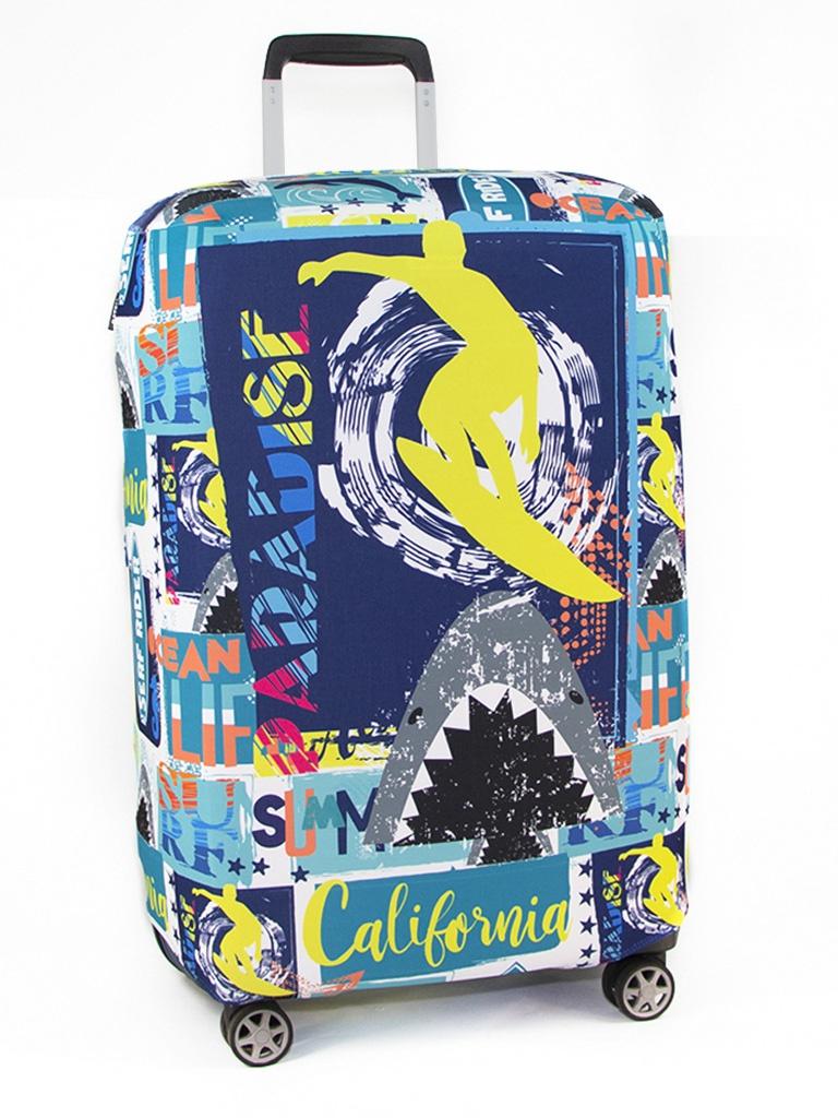 Чехол для чемодана RATEL Travel размер L Summer Pattern