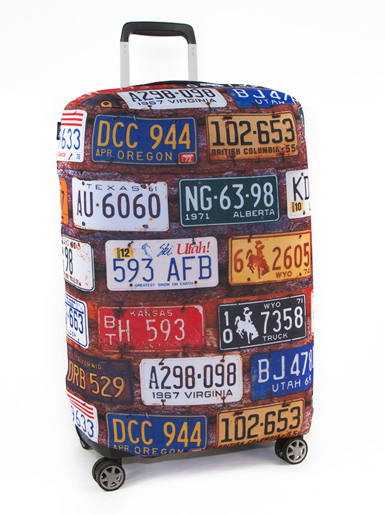 Чехол Ratel Travel M License Plates R3_80_103wt_023_NP300u_M