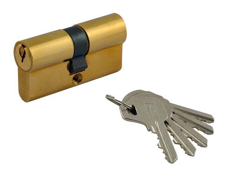 Цилиндровый механизм Нора-М Л-80 (40-40) Brass 6638