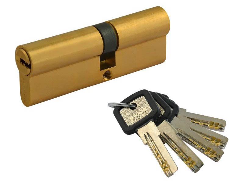 Цилиндровый механизм Нора-М ЛПУ-90 (50-40) Brass 12690 фото