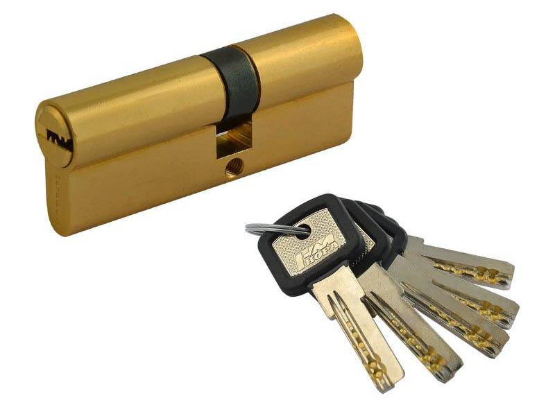 Цилиндровый механизм Нора-М ЛПУ-80 (45-35) Brass 12689