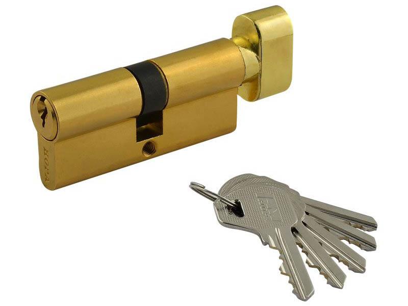 Цилиндровый механизм Нора-М ЛУВ-70 (35-35) Brass 5334