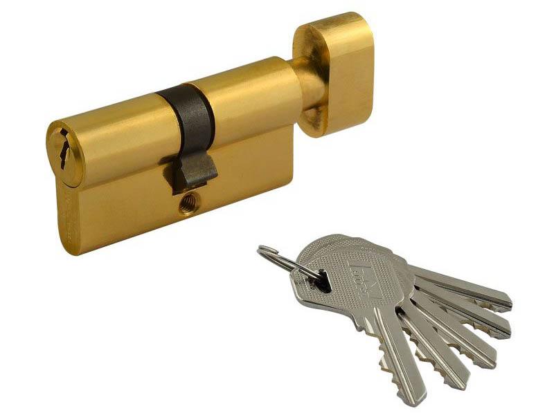 Цилиндровый механизм Нора-М ЛУВ-60 (30-30) Brass 5330