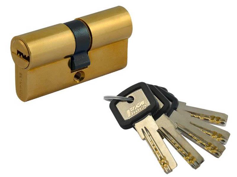 Цилиндровый механизм Нора-М ЛПУ-60 (30-30) Brass 5342