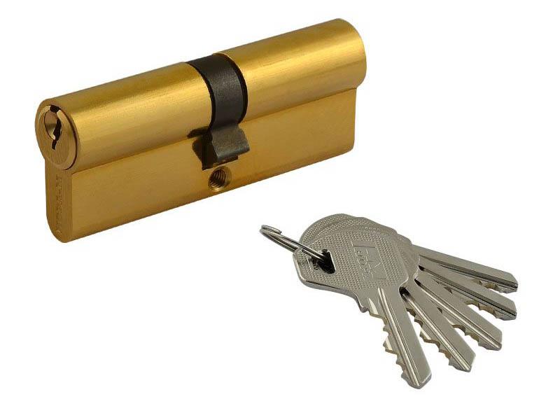 Цилиндровый механизм Нора-М Л-60 (30-30) Brass 5370