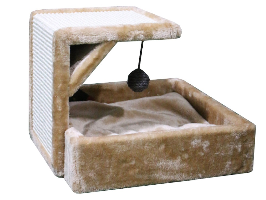 Когтеточка Pet Choice 40x42x30cm Beige PS685