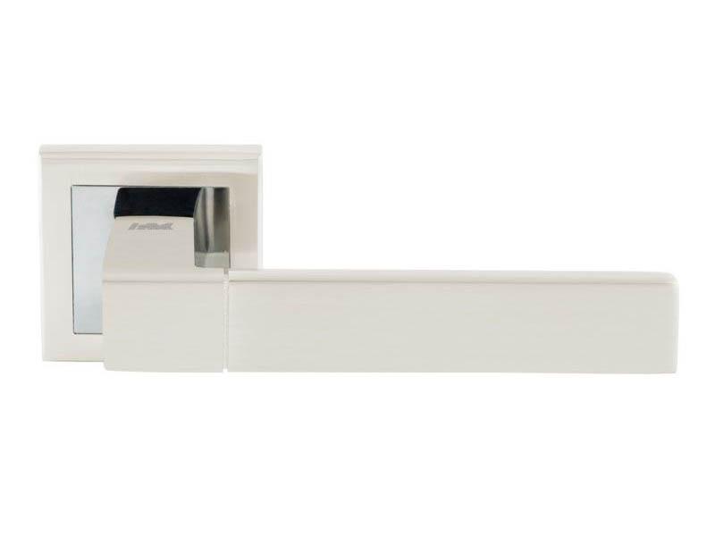 Ручка дверная Нора-М 109К AL White Pearls 16404