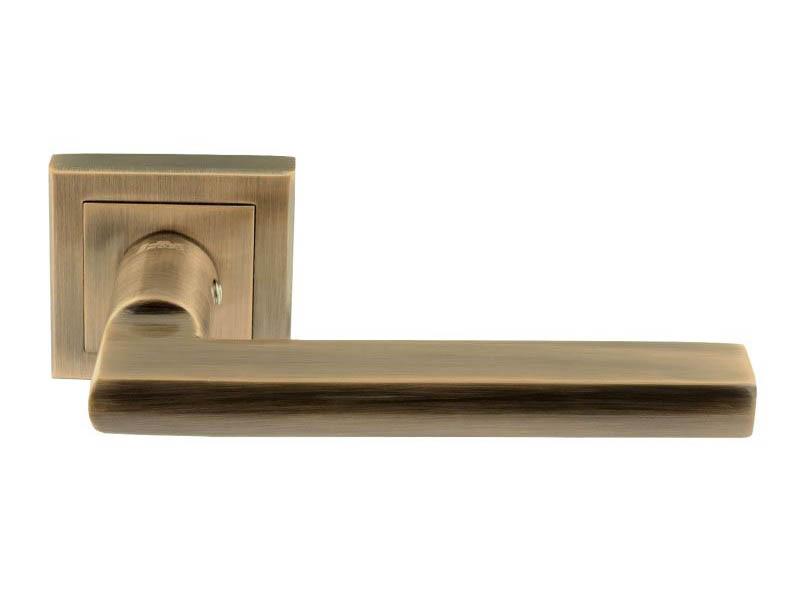 Ручка дверная Нора-М 108К AL Old Bronze 15917