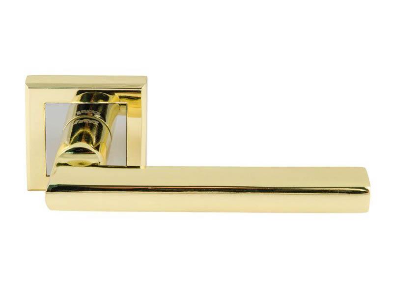 Ручка дверная Нора-М 108К AL Gold 15969