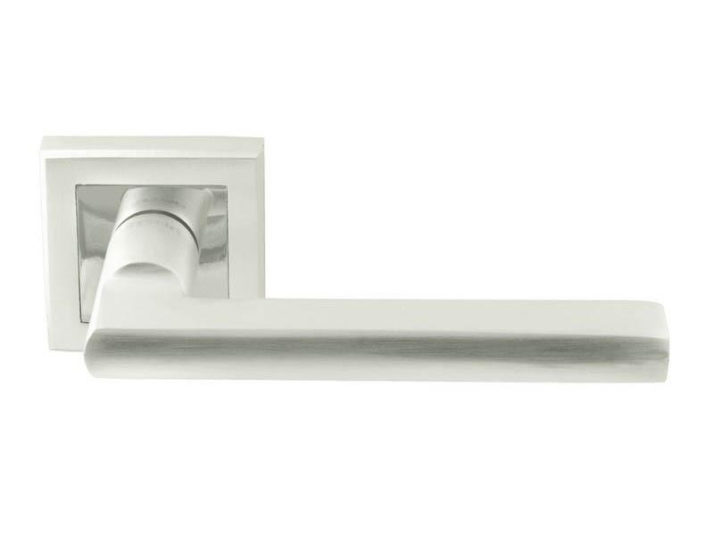Ручка дверная Нора-М 108К AL White Pearls 16581
