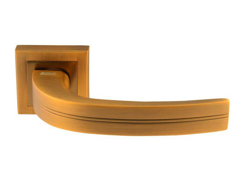 Ручка дверная Нора-М 106К AL Matt Coffee 16110