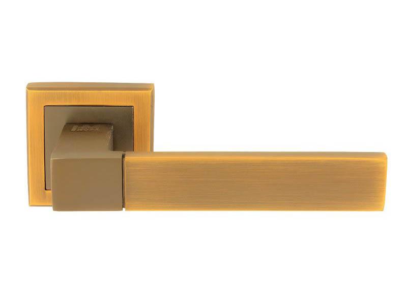Ручка дверная Нора-М 109К AL Matt Coffee 16136