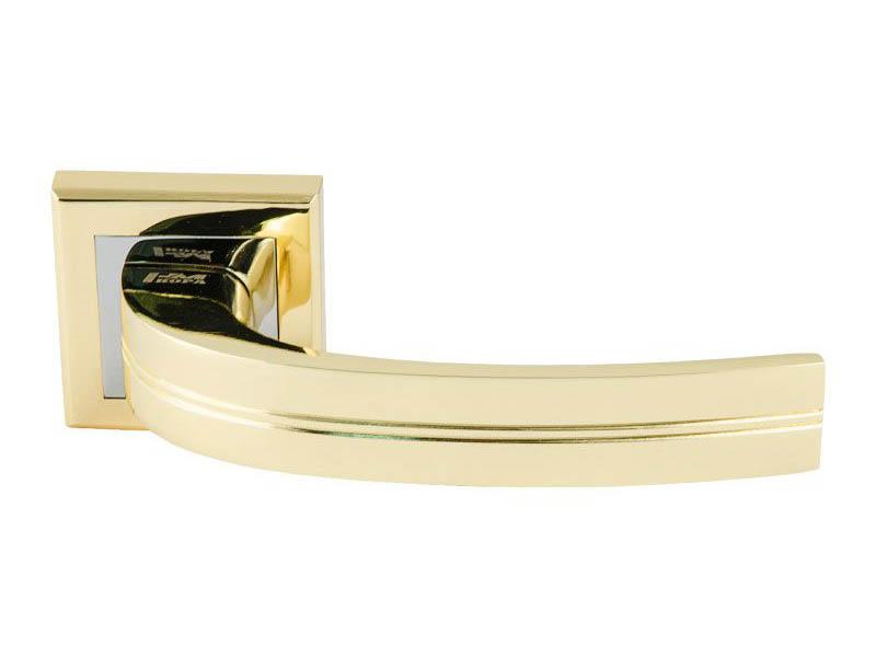 Ручка дверная Нора-М 106К AL Gold 15968
