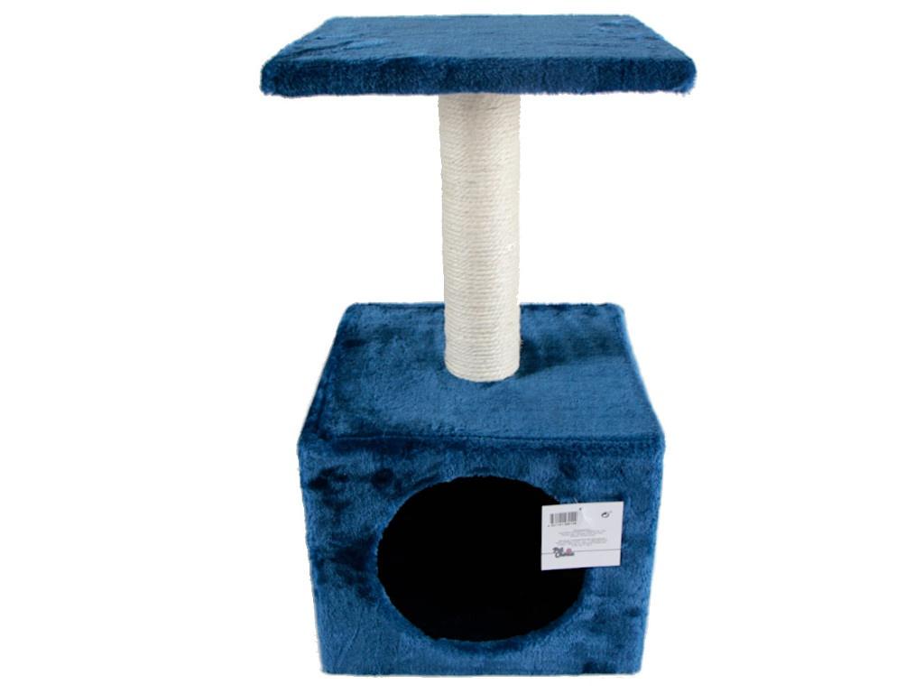Когтеточка Pet Choice 30x30x57cm SBE307-Dark_Blue