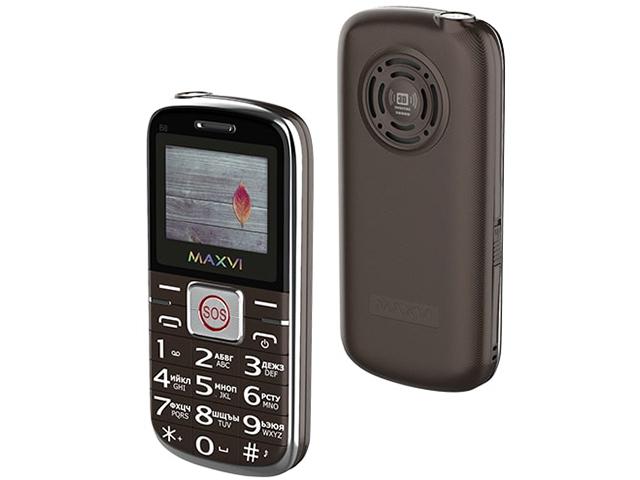 Сотовый телефон MAXVI B8 Brown