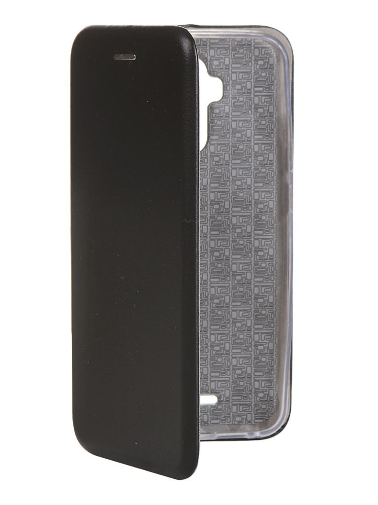 Чехол для BQ 6042L Magic E экокожа + Silicone Black