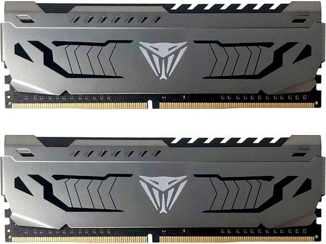 Модуль памяти Patriot Memory Viper Steel DDR4 DIMM 3200MHz PC4-25600 CL16 - 32Gb KIT (2x16Gb) PVS432G320C6K фото
