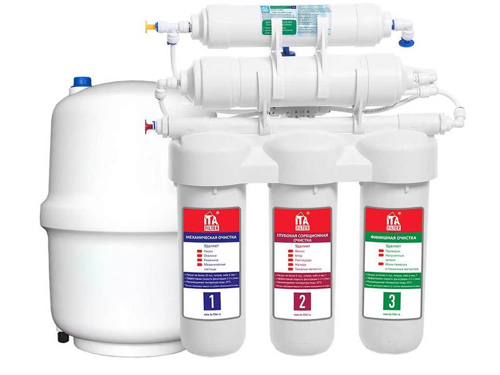 Фильтр для воды ITA Filter Bravo Trio без помпы FS10306-2