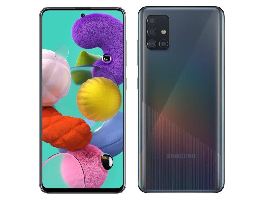 Сотовый телефон Samsung SM-A515F Galaxy A51 4Gb/64Gb Black Выгодный набор для Selfie + серт. 200Р!!! сотовый телефон samsung sm a515f galaxy a51 4gb 64gb black