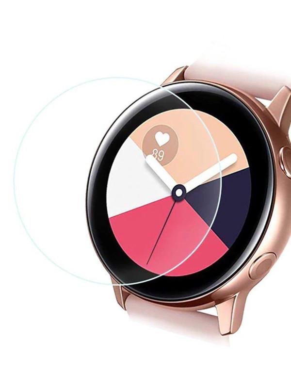Аксессуар Защитная пленка LuxCase для Samsung Galaxy Watch Active2 44mm На весь экран Transparent 89354