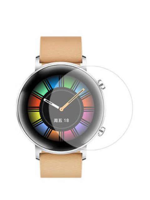 Аксессуар Защитная пленка LuxCase для Huawei Watch GT2 На весь экран Transparent