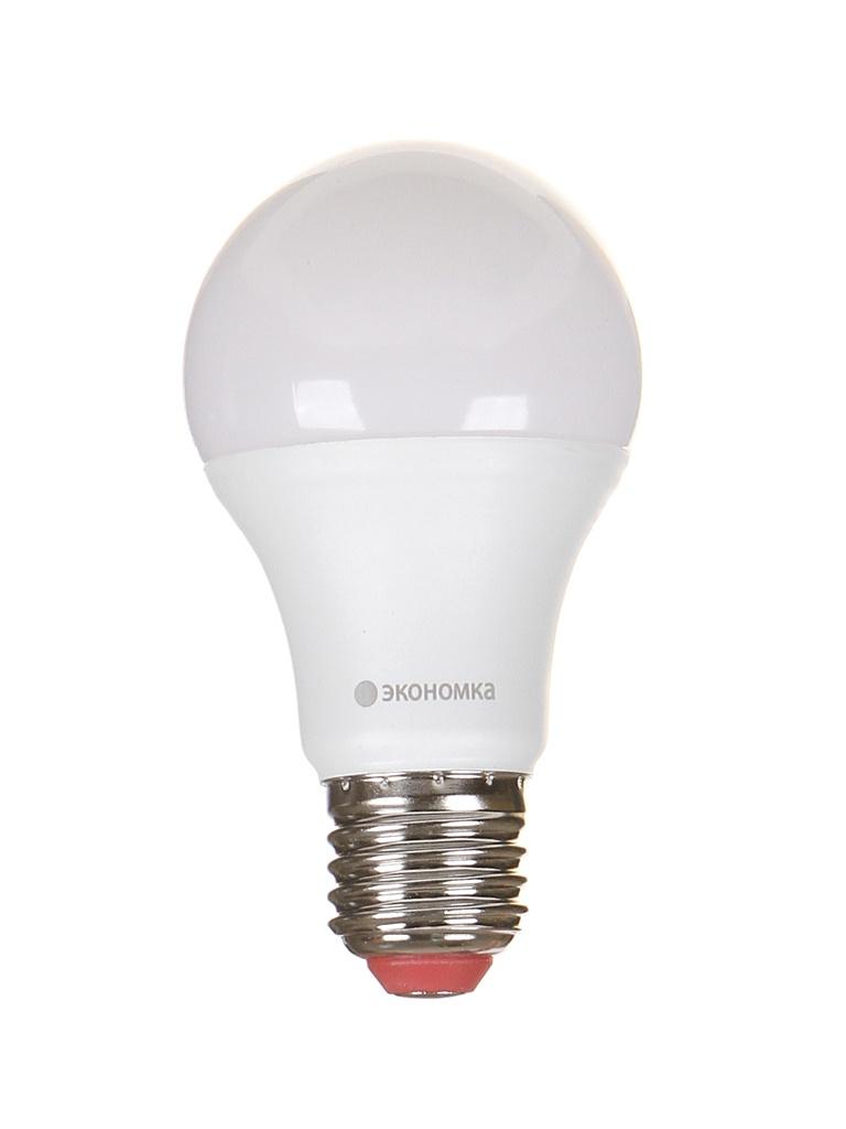 Лампочка Экономка Шарик Е27 А60 15W 230V 3000K 1350Lm Eco LED15wA60230vE2730