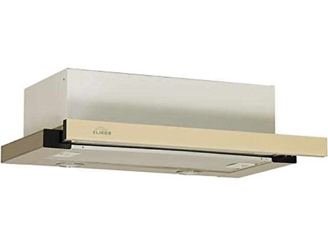Кухонная вытяжка Elikor Интегра Glass 50Н-400-В2Д Inox-Beige Glass