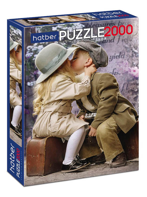 лев бакст жестокая первая любовь Пазл Hatber Premium Первая любовь 2000ПЗ1_21002
