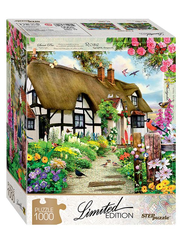 Пазл Step Puzzle Limited Edition. Английский коттедж 79800