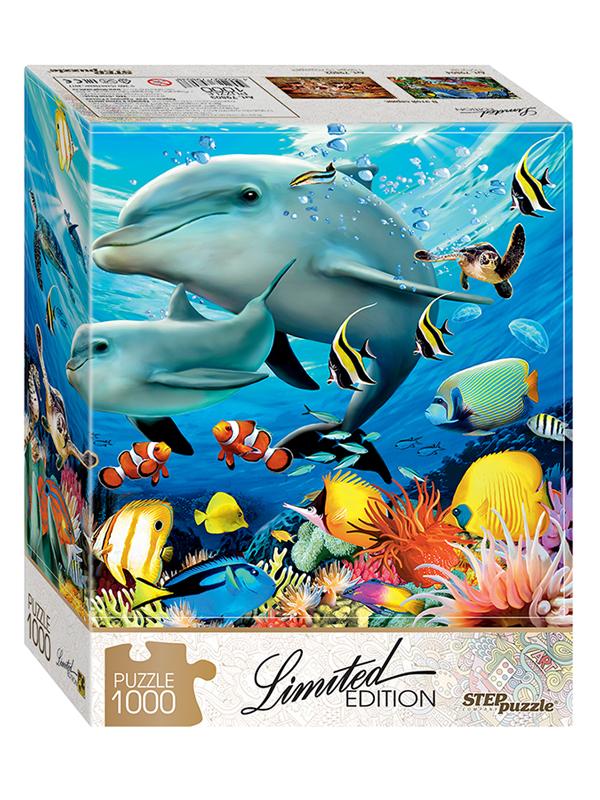 Пазл Step Puzzle Limited Edition. Подводный мир 79803