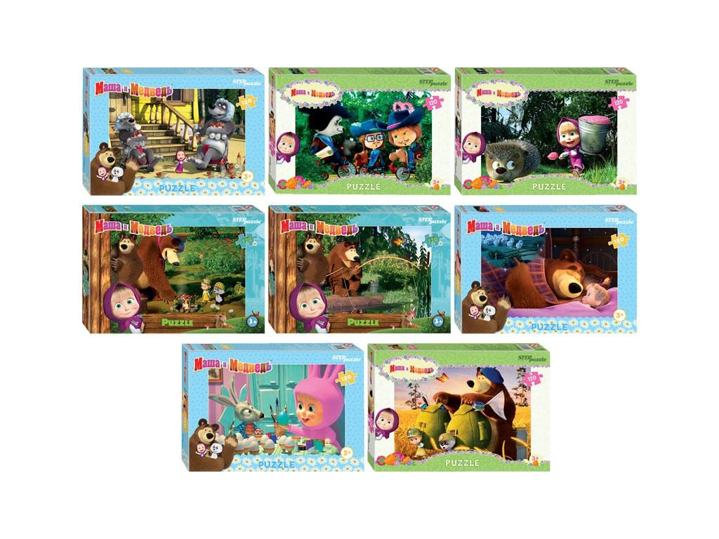 Пазл Step Puzzle Маша и Медведь-2 75160
