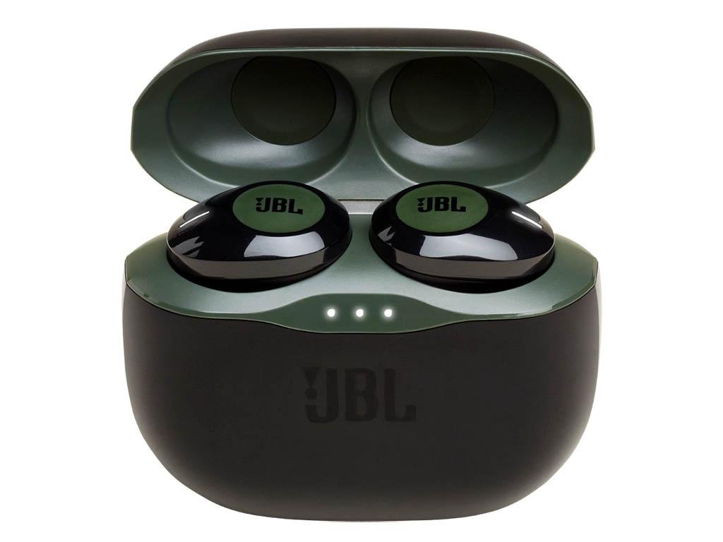 Наушники JBL Tune 120TWS Green JBLT120TWSGRN Выгодный набор + серт. 200Р!!! наушники jbl tune 120tws black jblt120twsblk выгодный набор серт 200р