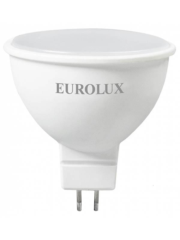 Лампочка Eurolux Рефлектор LL-E-MR16-7W-230-2.7K-GU5.3 76/2/23