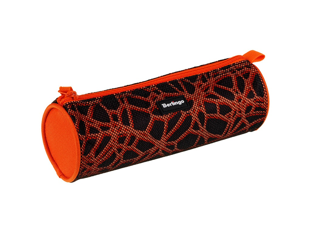 Пенал Berlingo 210x70mm Orange Net PT04905