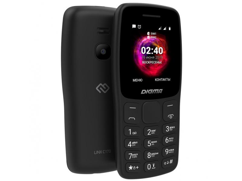 Сотовый телефон DIGMA LINX C170 Black