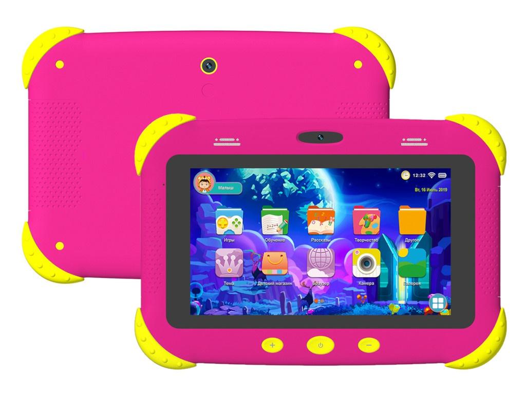 Фото - Планшет DIGMA CITI Kids Pink детский планшет digma citi kids 2gb 32gb 3g android 9 0 розовый